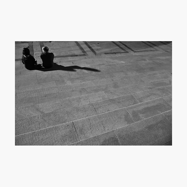 the conversation Photographic Print