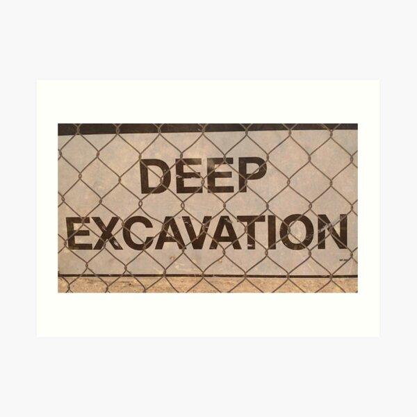 deepest love / / I dig Art Print