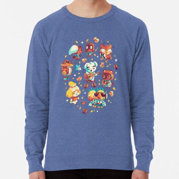 Tarantula Island // Isabelle, Tom Nook, Blathers, KK Slider, Daisy Mae, Animal Crossing Lightweight Sweatshirt