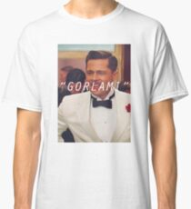 Inglourious Basterds 'Gorlami' Brad Pitt T-Shirt Classic T-Shirt
