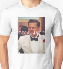 Inglourious Basterds 'Gorlami' Brad Pitt T-Shirt Slim Fit T-Shirt