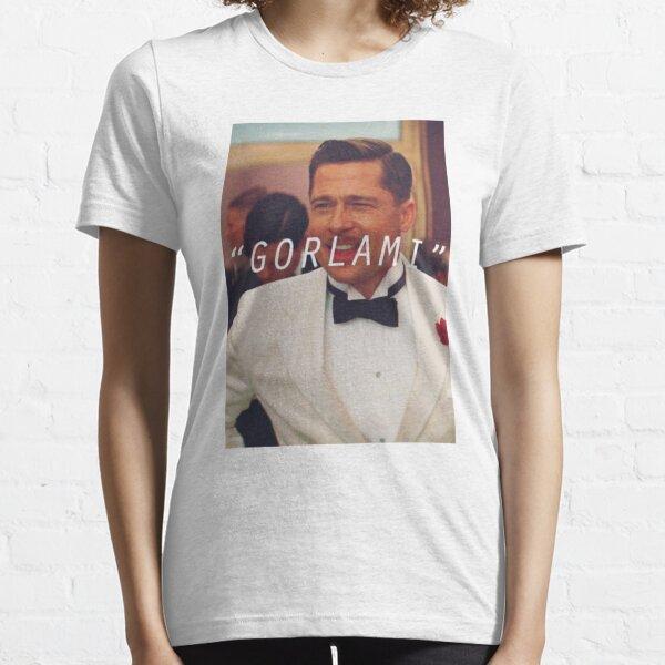 Inglourious Basterds 'Gorlami' Brad Pitt T-shirt T-shirt essentiel
