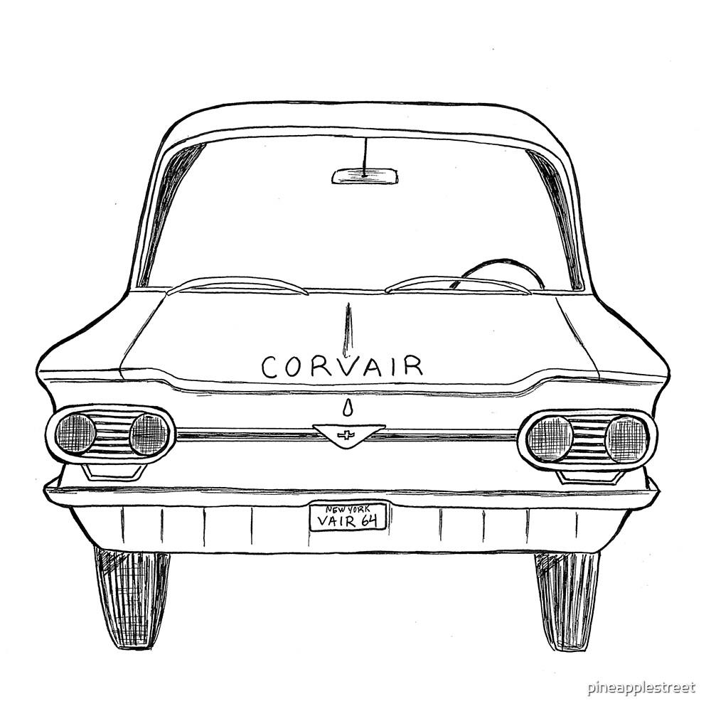 1964 Corvair by pineapplestreet