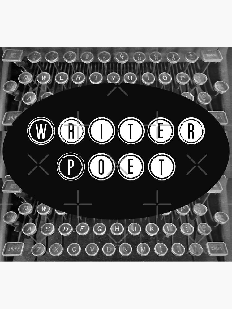 Writer Poet- Typewriter Keys-Pearl S. Buck by Matlgirl