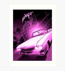 Marilyn Monroe's Cadillac Art Print