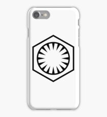 Star Wars The Force Awakens First Order  iPhone Case/Skin