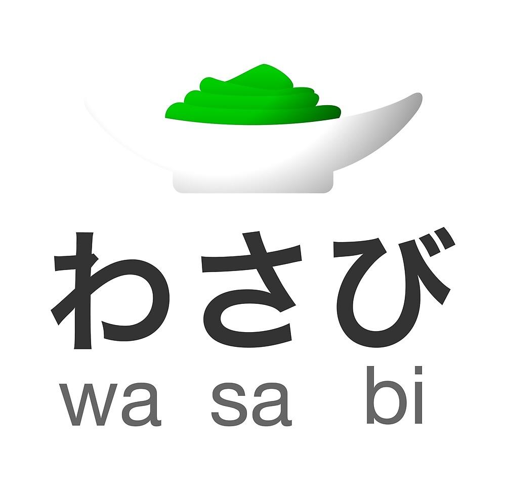 わさび - wasabi by housecatdesign