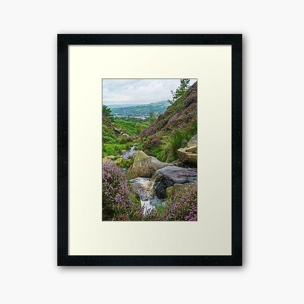 Ilkley Moor Framed Art Print