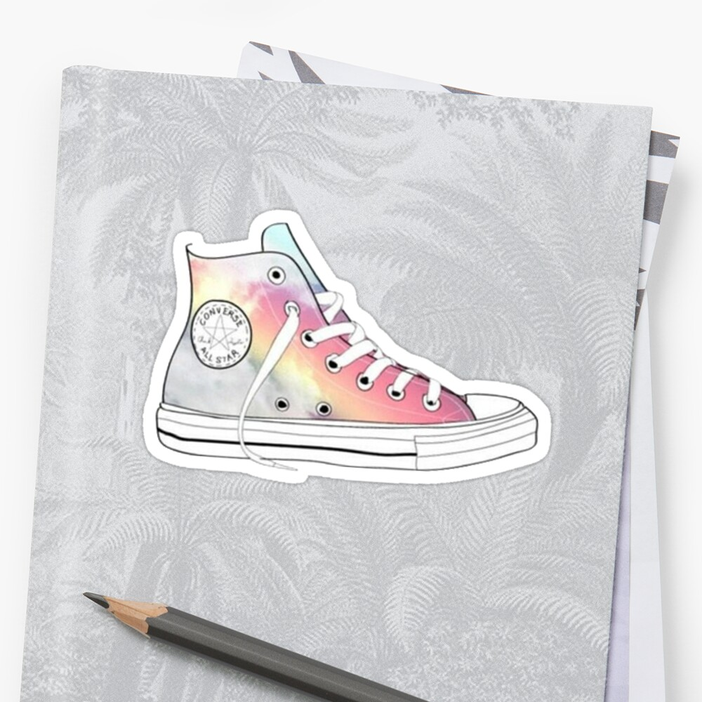rainbow high tops by charlo19