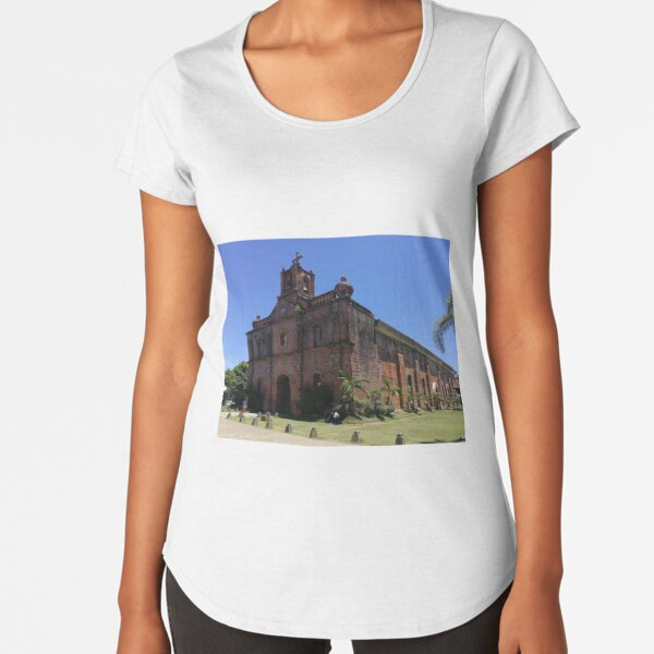 San Miguel Parish Premium Scoop T-Shirt