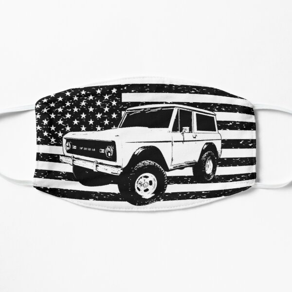 Ford Bronco 1968 Flat Mask