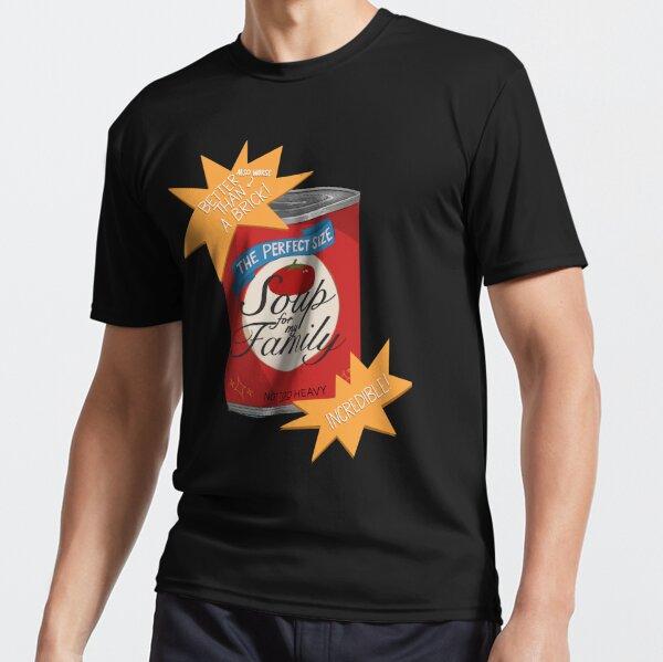 Sopa para mi familia Camiseta deportiva
