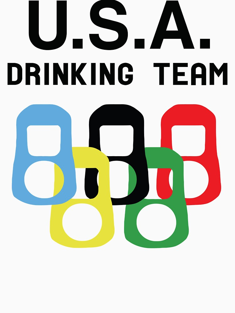 USA Drinking Team by partyanimal