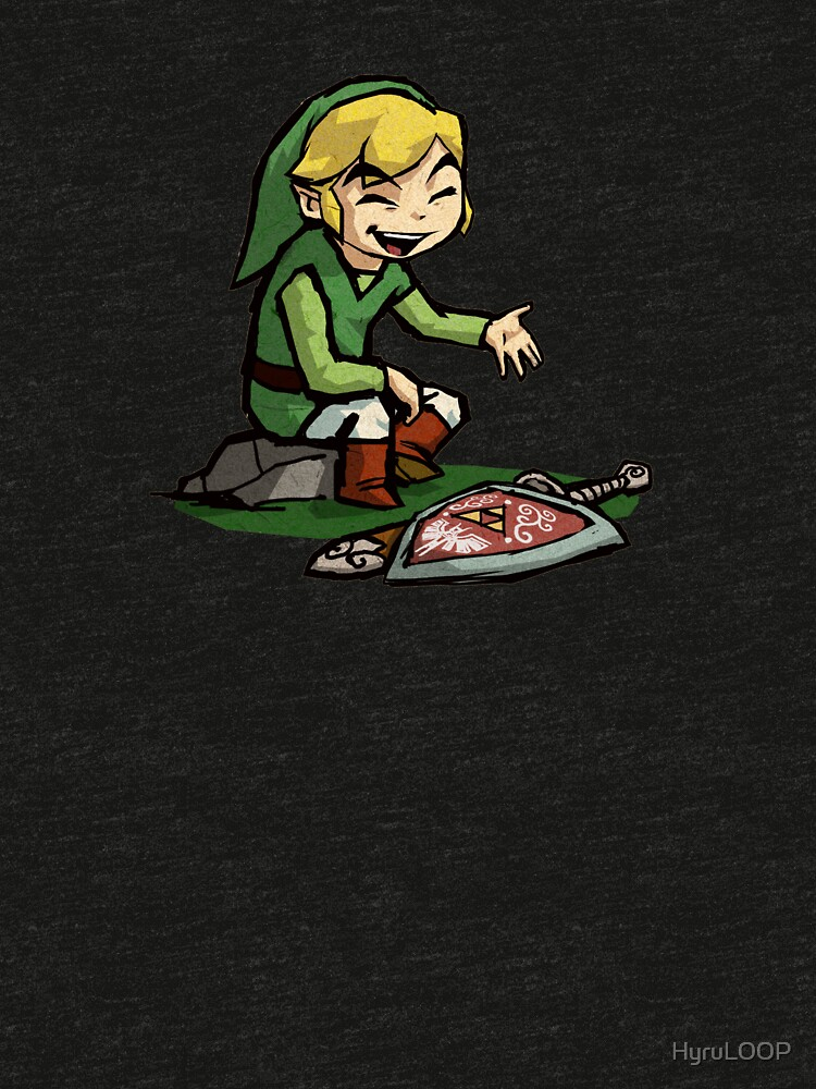 Like a boss toon link t shirt stickers by hyruloop