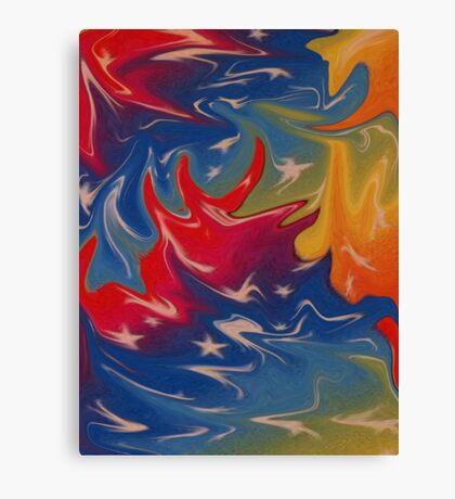 Dream in colour Canvas Print