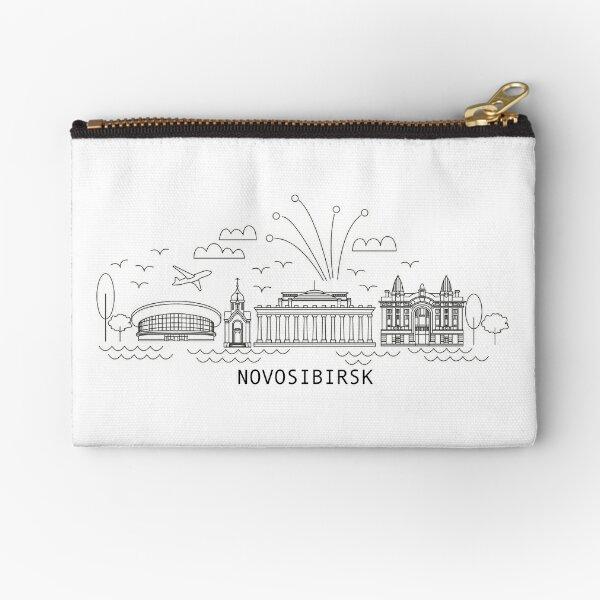 Novosibirsk City Artline Zipper Pouch