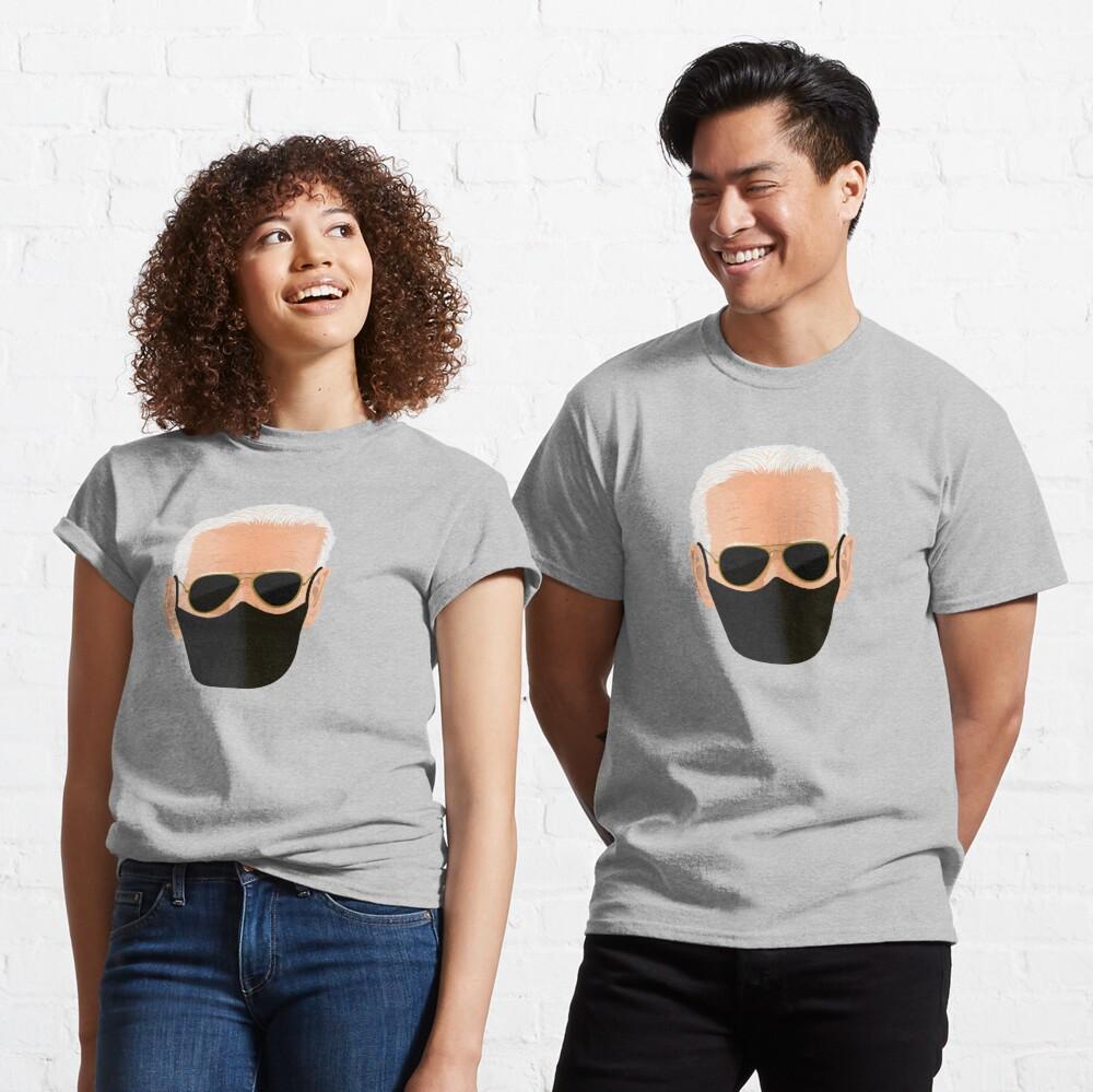 Joe Biden's face with mask Classic T-Shirt