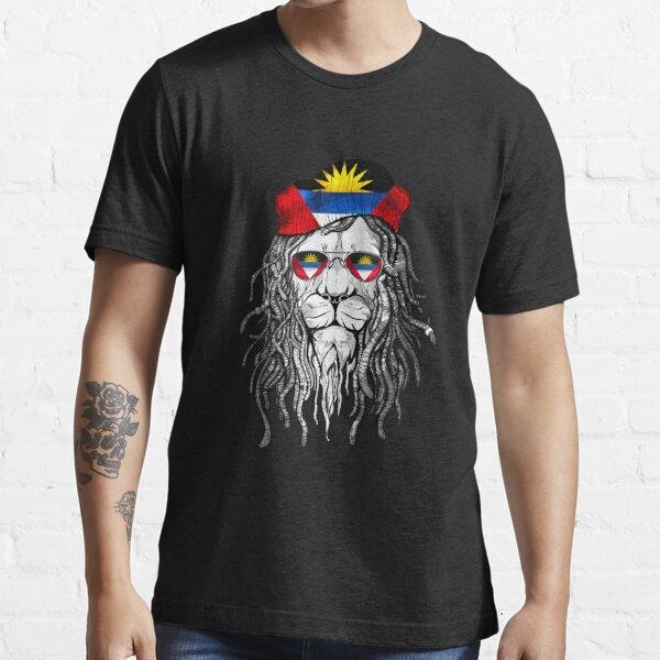 Antigua and Barbuda Helmet Motorcyclists Essential T-Shirt