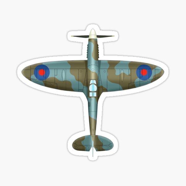 The Spitfire Blueprint Sticker