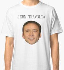 John Travolta/Nicolas Cage Face/Off Classic T-Shirt