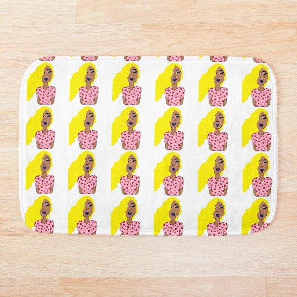 Glam Girls Polka Dots Bath Mat