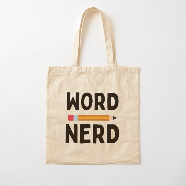 Word Nerd  Cotton Tote Bag