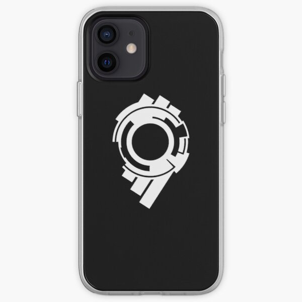 Section 9 (white print) iPhone Soft Case
