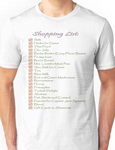 Geek Shopping List Unisex T-Shirt