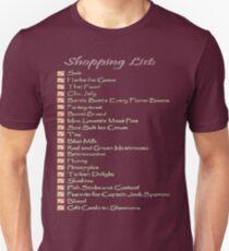Geek Shopping List T-Shirt