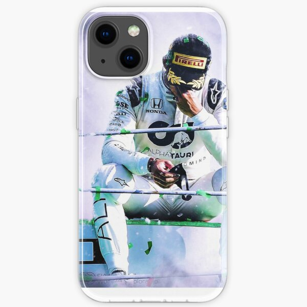 Pierre Gasly - Monza 2020 Coque souple iPhone