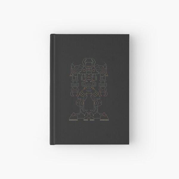 Robot — Vreni — High Quality Ascii Art Hardcover Journal