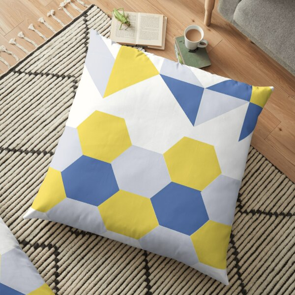 Mathematical Shapes Floor Pillow