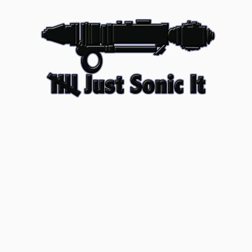 Silence Just Sonic It by michaelrdesigns