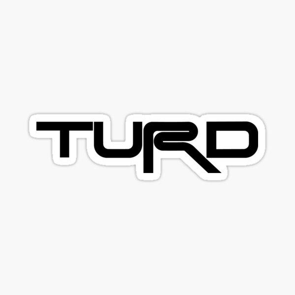Toyota TRD TURD Black Sticker