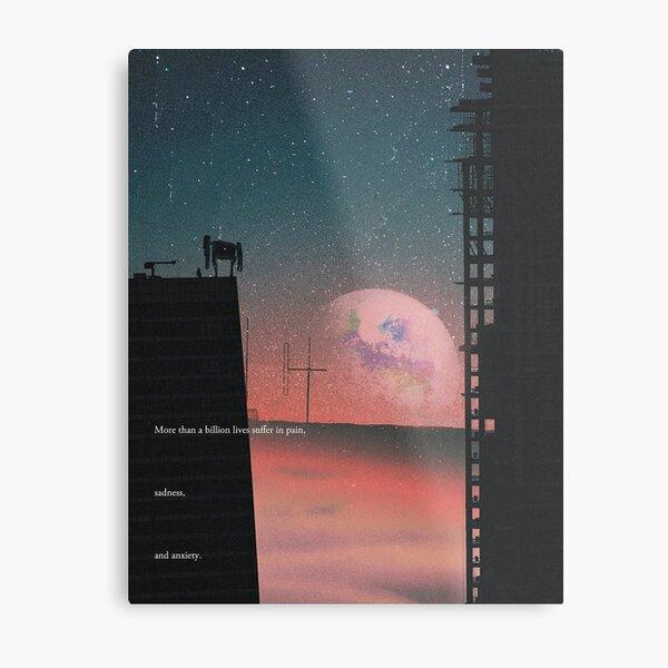 A Galactic Melancholy III Metal Print