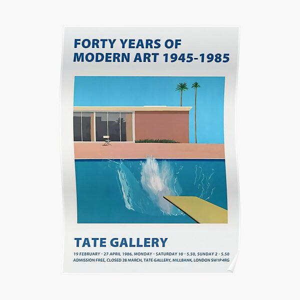 Forty years a modern art Poster