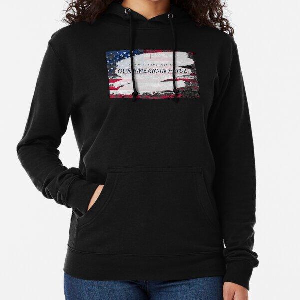 AMERICAN PRIDE - FLAG BLANKETS Lightweight Hoodie