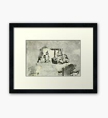 still life with window Framed Print