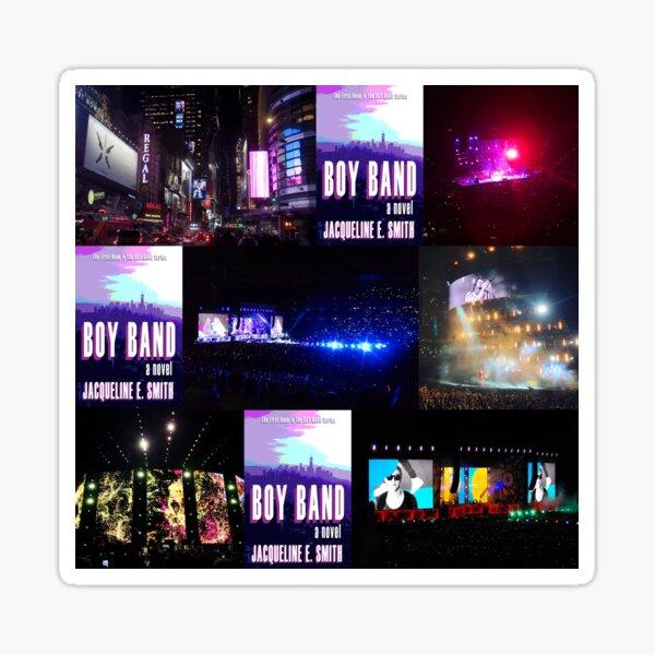 Boy Band Collage Sticker