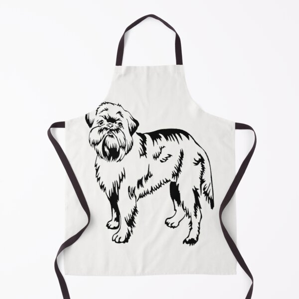 rescue all the brussels griffons Apron