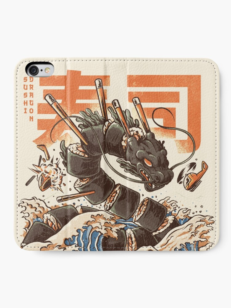 Alternate view of Great Sushi Dragon  iPhone Wallet