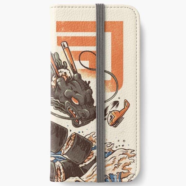 Der große Sushi-Drache! iPhone Flip-Case