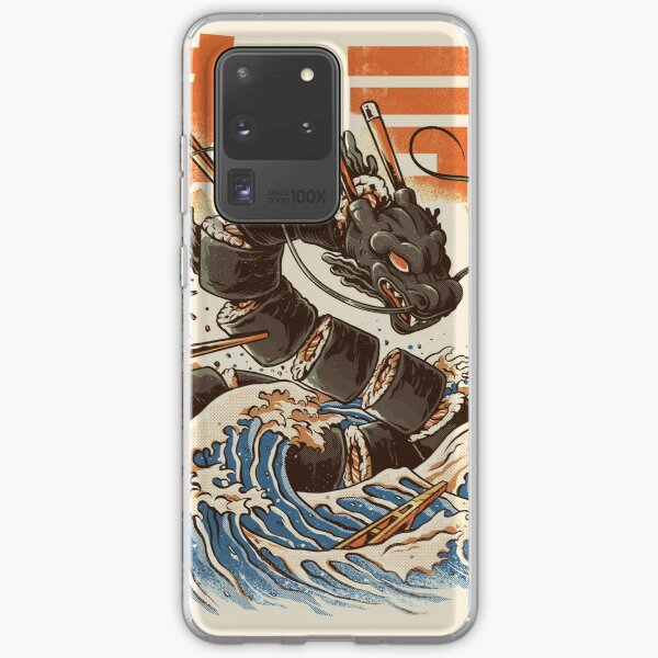 Great Sushi Dragon  Samsung Galaxy Soft Case
