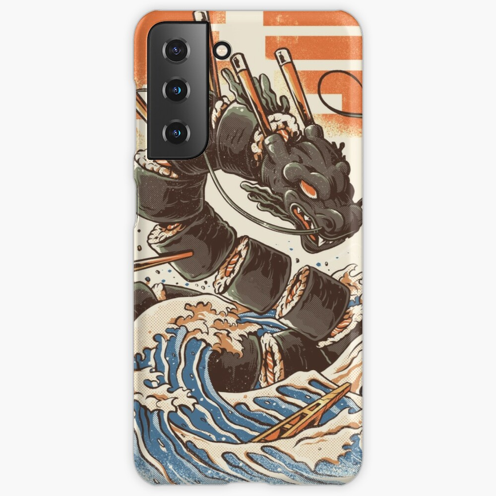 Great Sushi Dragon  Case & Skin for Samsung Galaxy