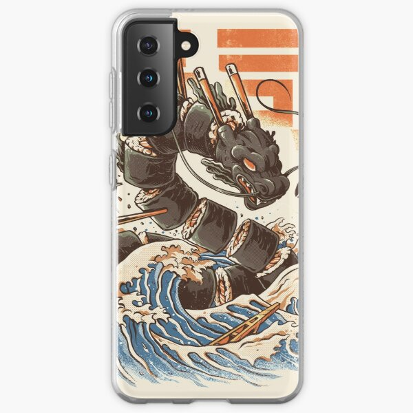 Great Sushi Dragon Funda blanda para Samsung Galaxy