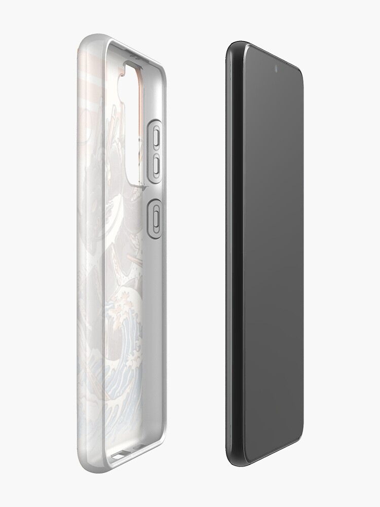 Alternate view of Great Sushi Dragon  Case & Skin for Samsung Galaxy