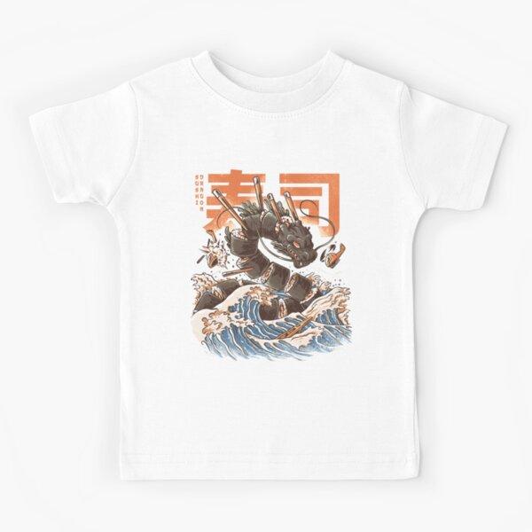 Great Sushi Dragon  Kids T-Shirt