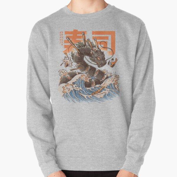 Le grand dragon à sushi! Sweatshirt épais