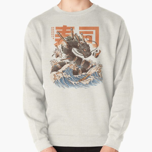 Great Sushi Dragon Sudadera sin capucha