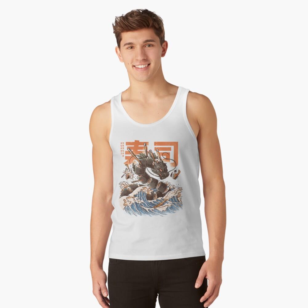 Great Sushi Dragon  Tank Top